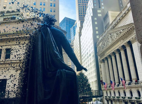 NYSE Digital Markets Wall Street New York City Decentralize
